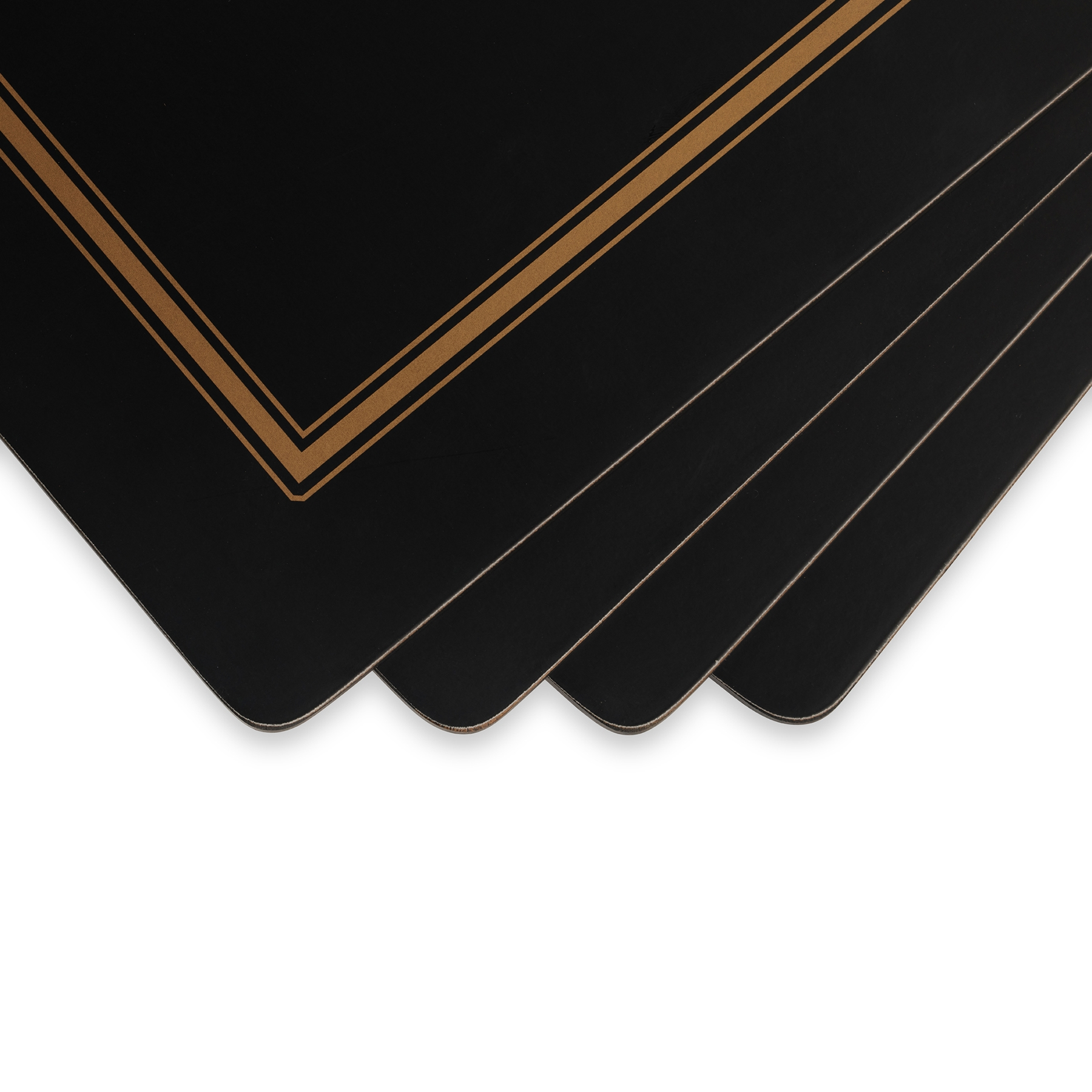 Pimpernel Classic Black Placemats Set of 4 image number 2