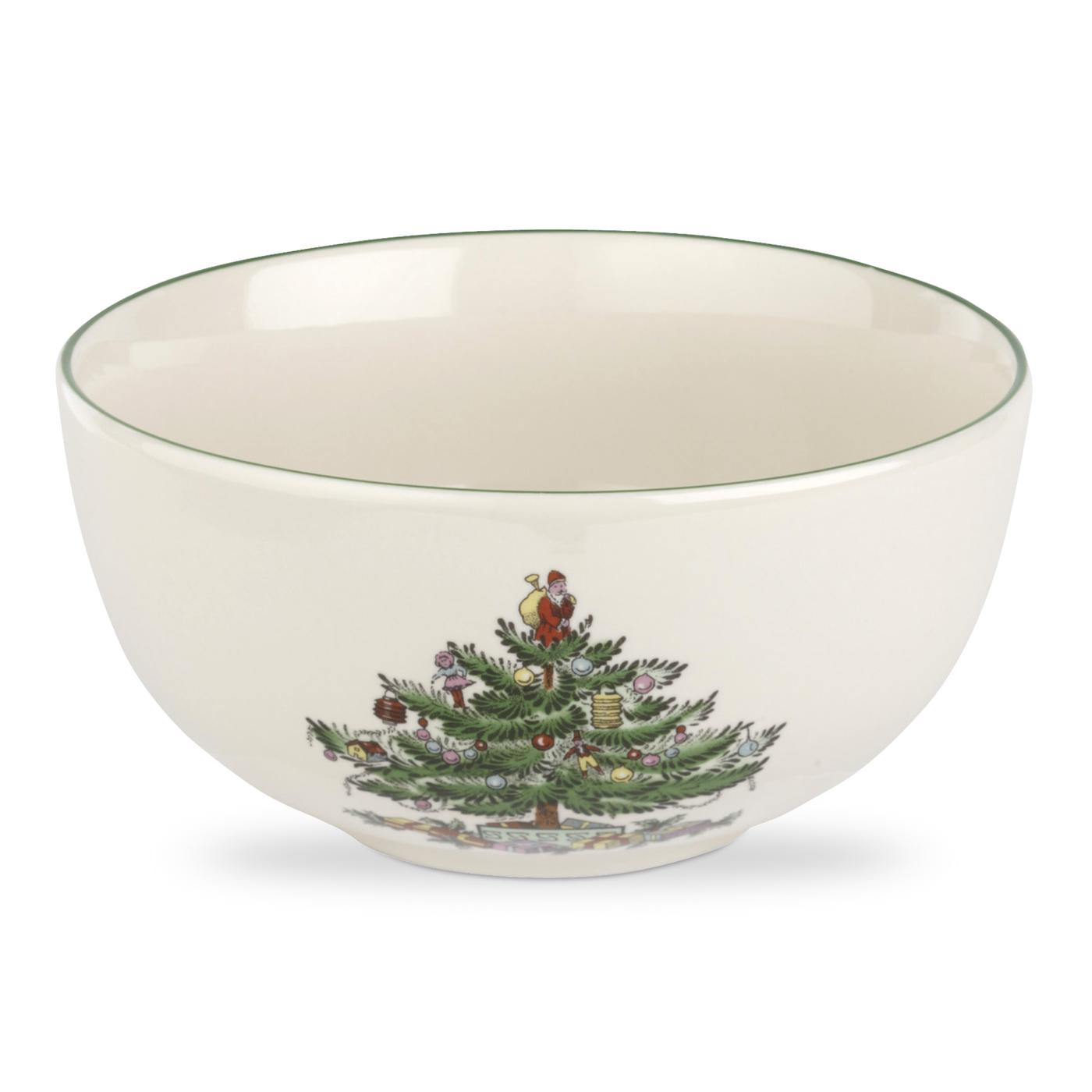 Spode Christmas Tree Set of 4 Fruit Salad Bowls image number 0