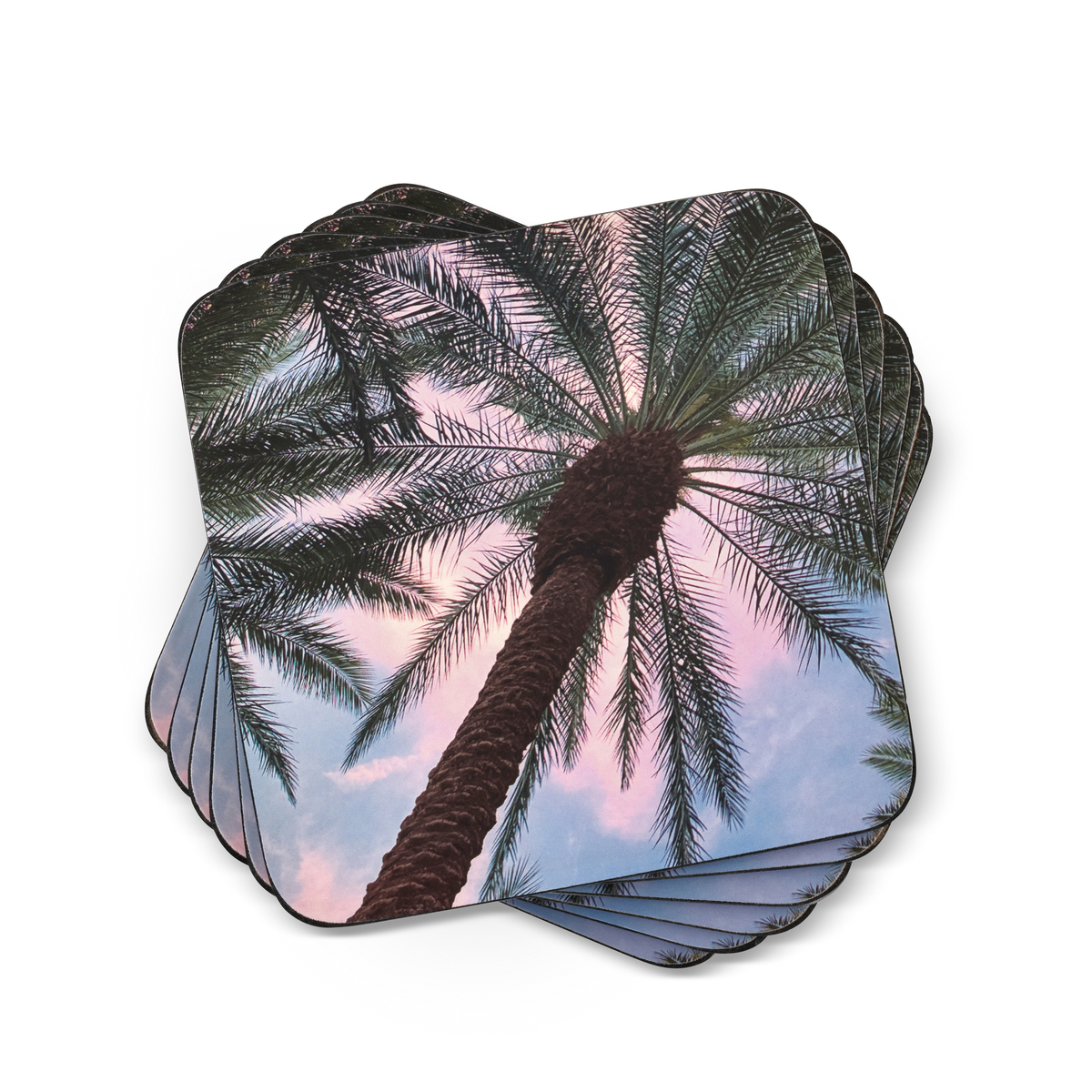Pimpernel Tropical Coasters Set of 6 image number 0
