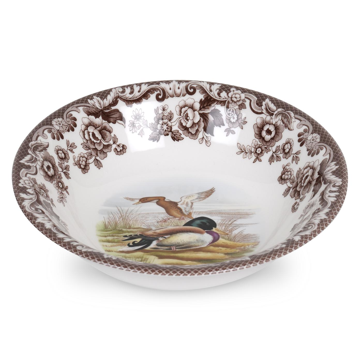 Spode Woodland Ascot Cereal Bowl 8 Inch (Mallard) image number 0