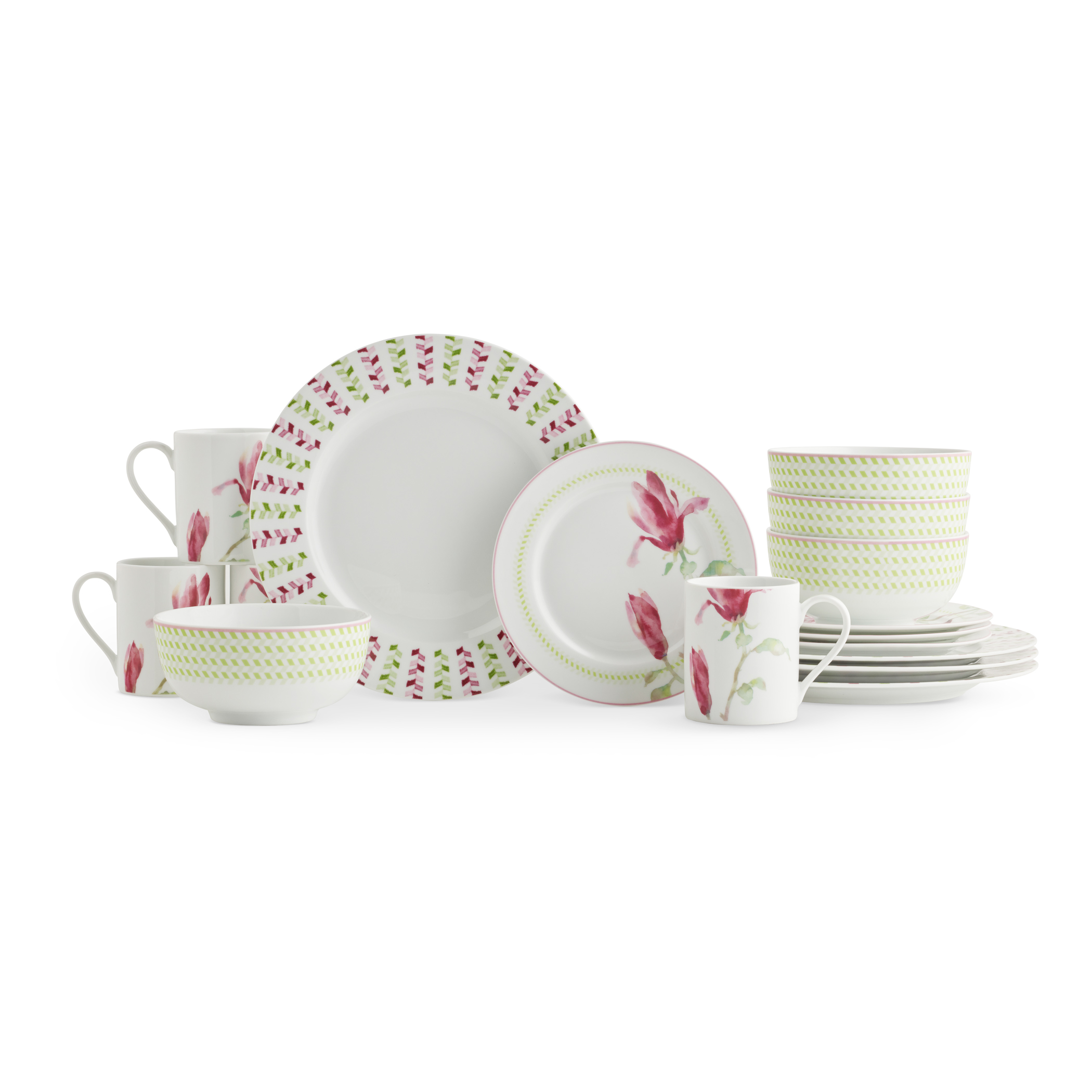 Spode Home Magnolia Haze 16 Piece SET image number 0