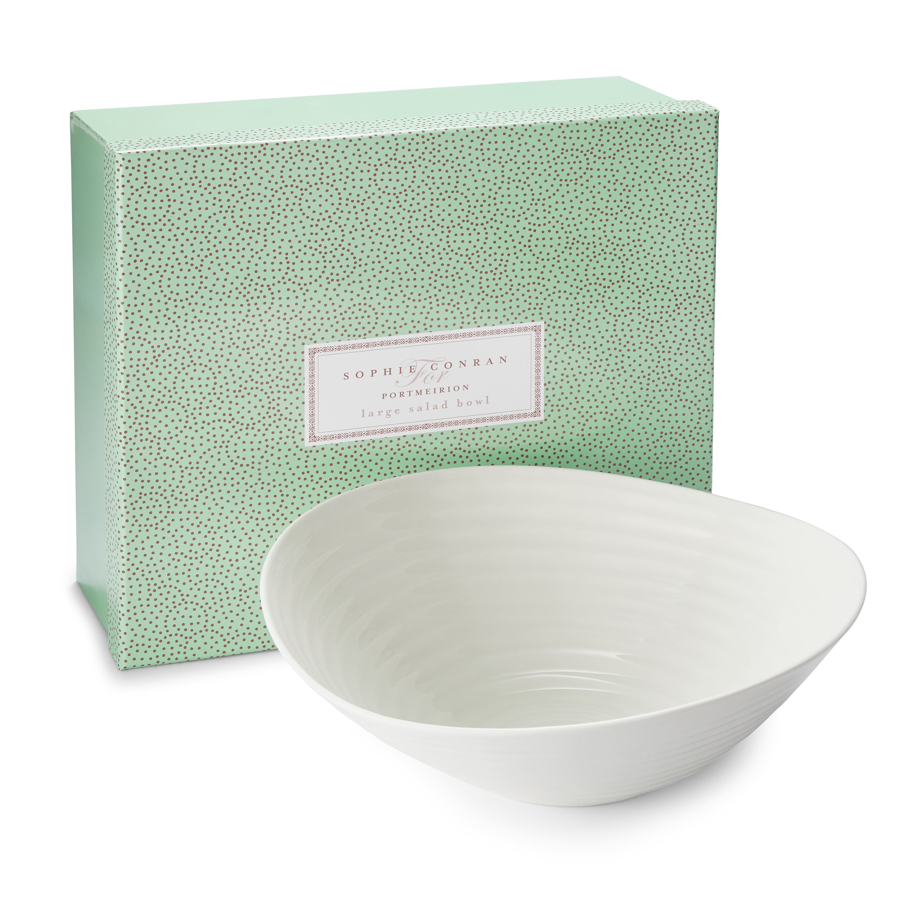 Portmeirion Sophie Conran White Large Salad Bowl image number 2