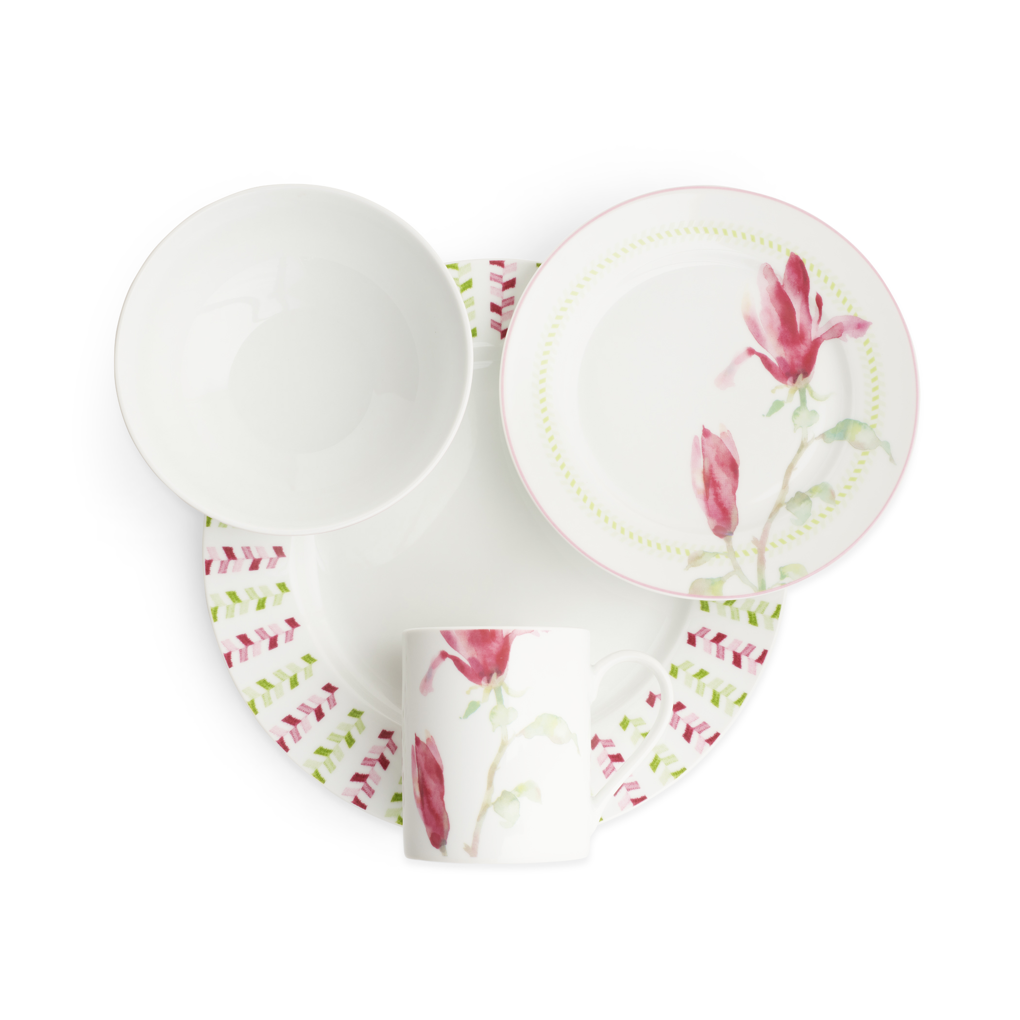 Spode Home Magnolia Haze 16 Piece SET image number 2