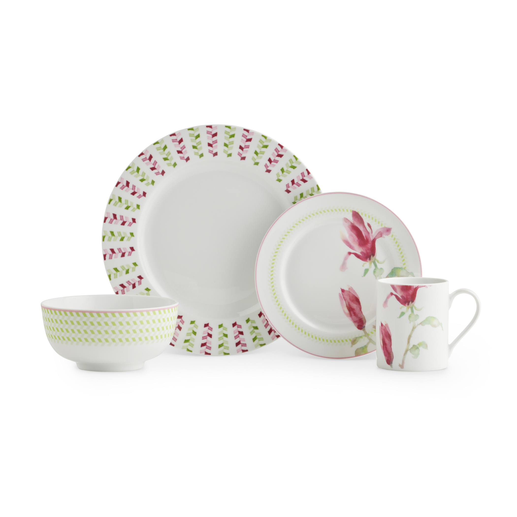 Spode Home Magnolia Haze 16 Piece SET image number 1