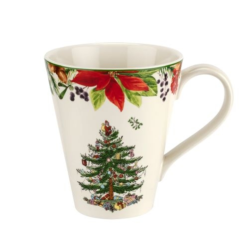 Spode Christmas Tree 2020 Annual Mandarin 14oz Mug image number 0
