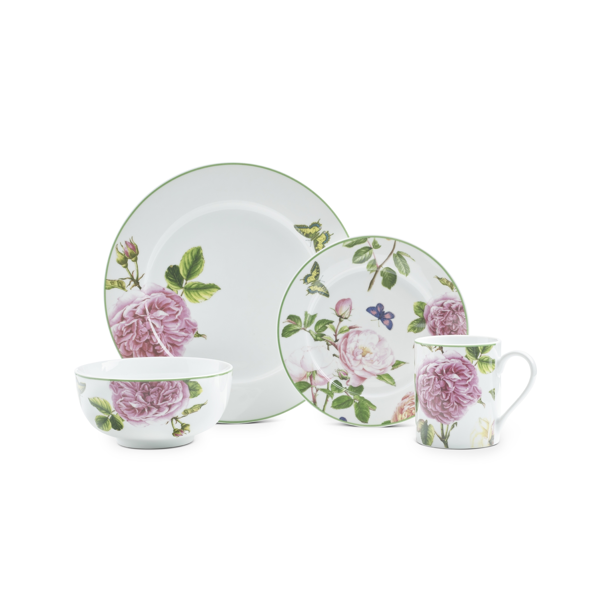 Spode Home Roses 16-piece Set image number 0
