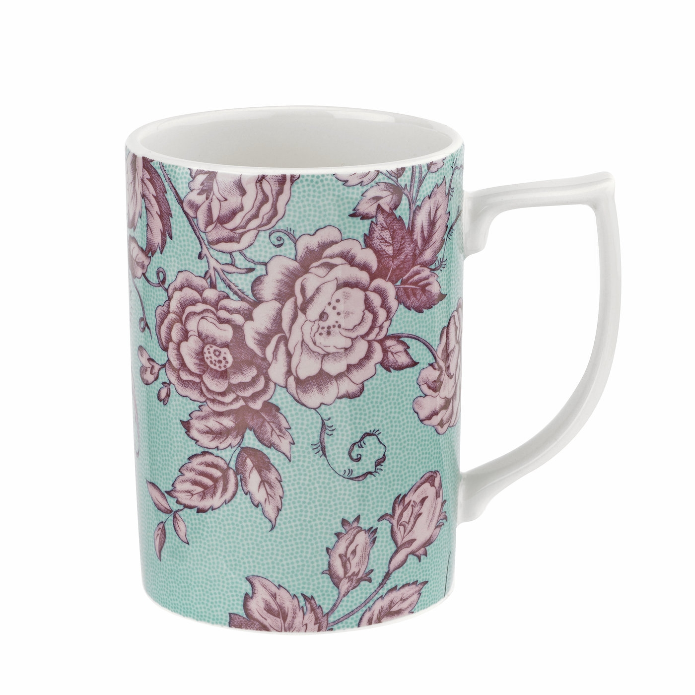 Spode Kingsley Teal 12 oz Mug image number 0