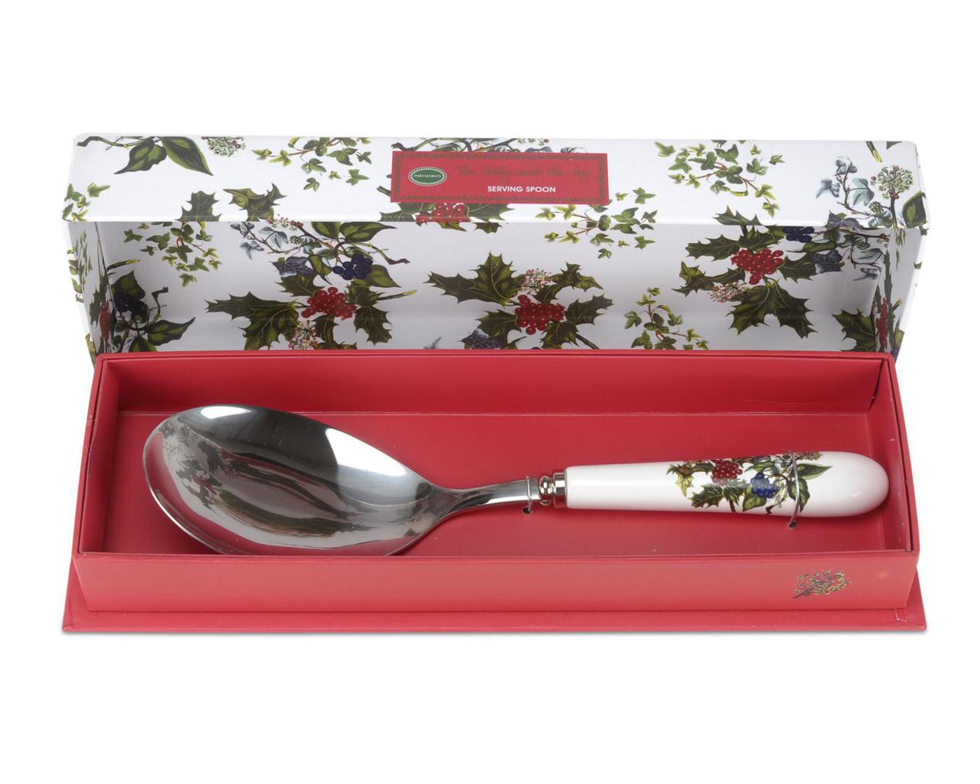 Portmeirion The Holly and The Ivy Serving Spoon image number 0