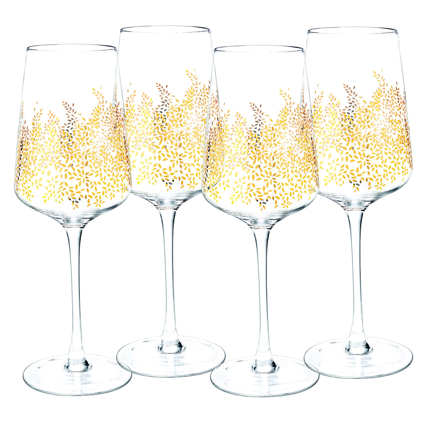 Sara Miller London Chelsea 15 Ounce Set of 4 Large Wine Glasses image number 0