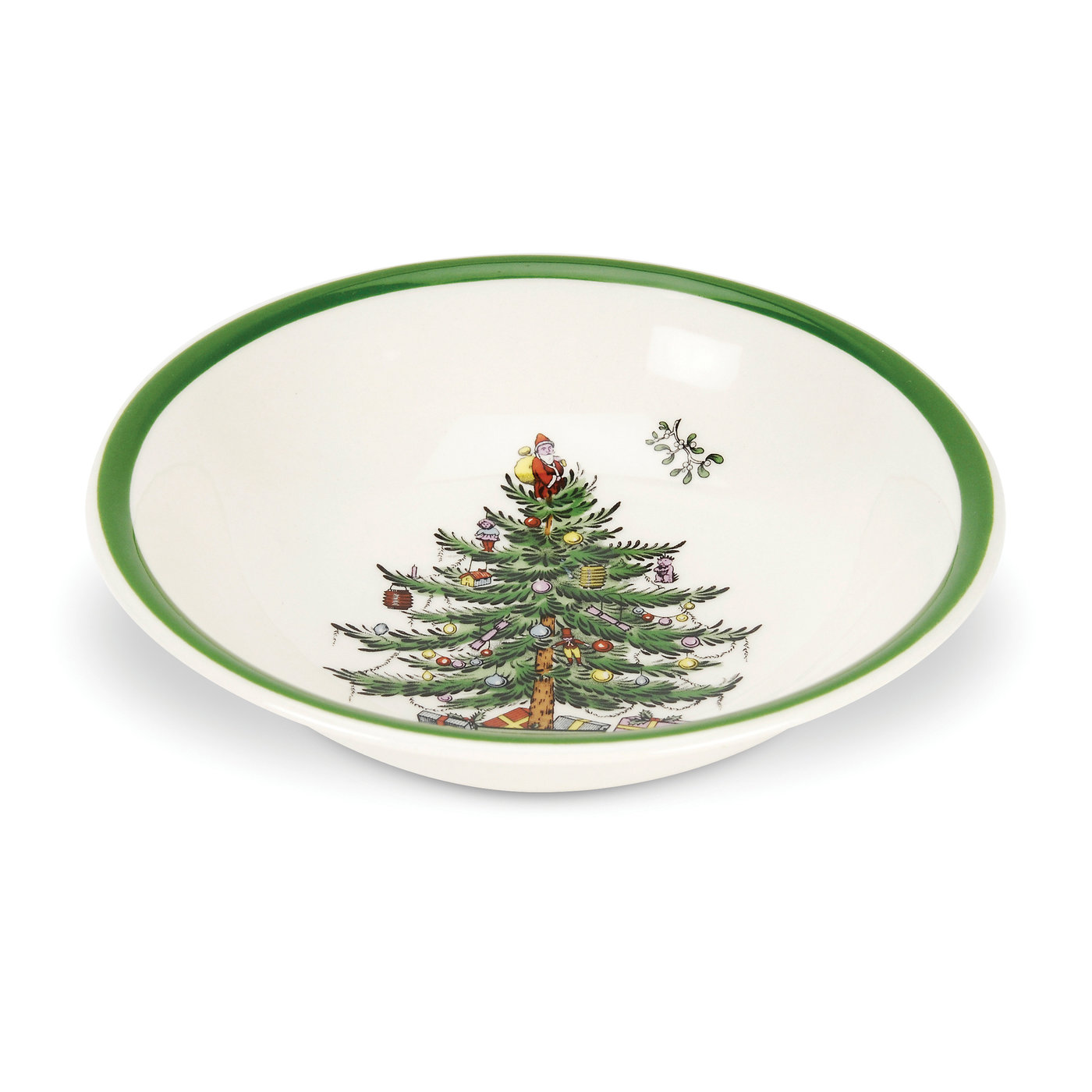 Spode Christmas Tree Set of 4 Cereal/Oatmeal Bowls image number 0