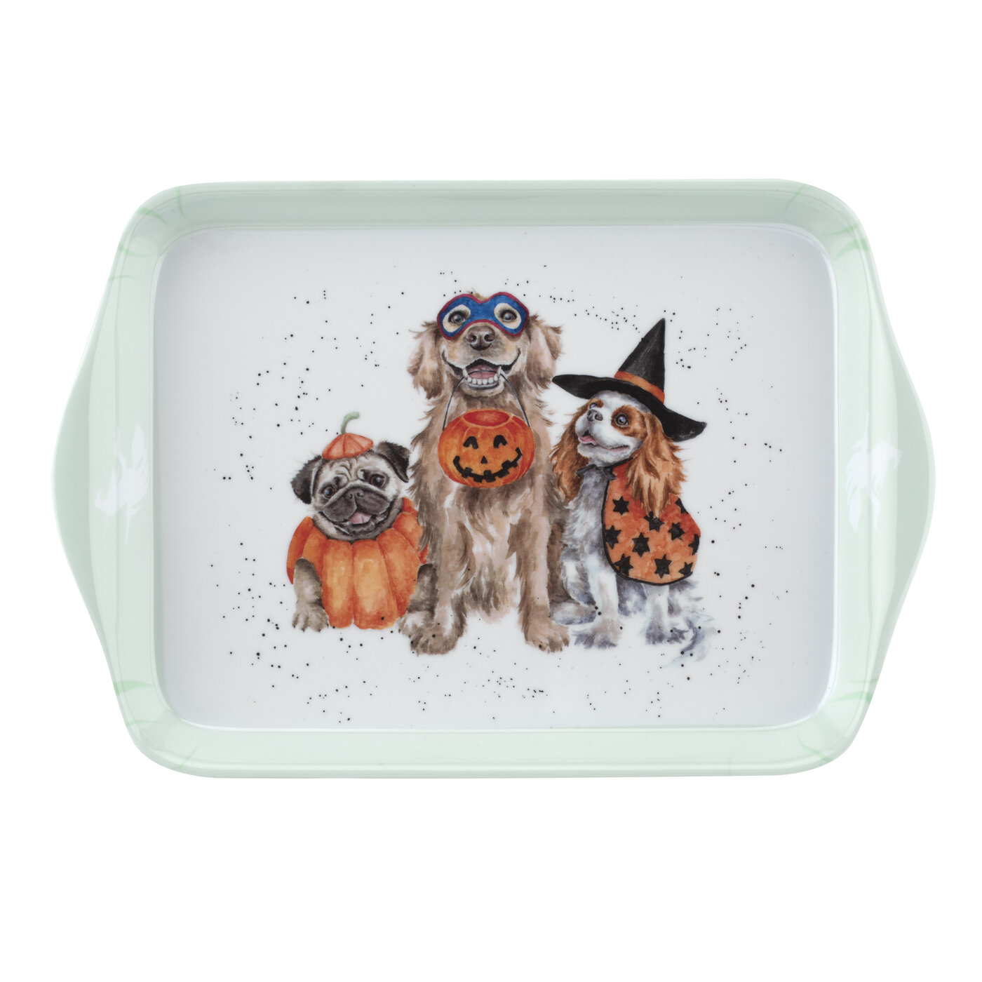Pimpernel Wrendale Designs 3 Piece Mug & Tray Set (Trick or Treat) image number 3