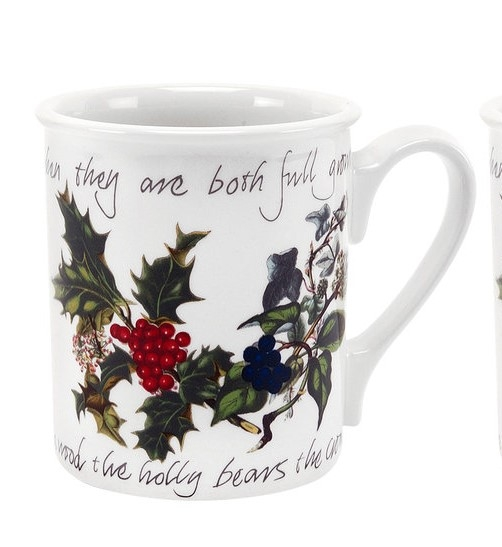 Portmeirion The Holly and The Ivy Breakfast Mug (Single) image number 0