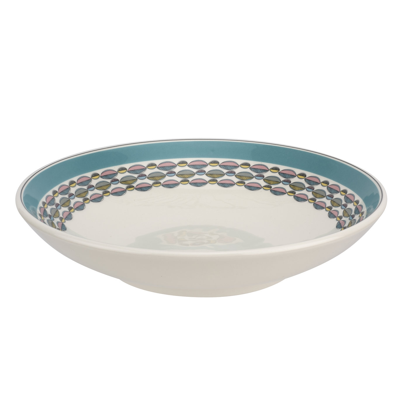 Portmeirion Westerly Turquoise Low Pasta Bowl image number 0
