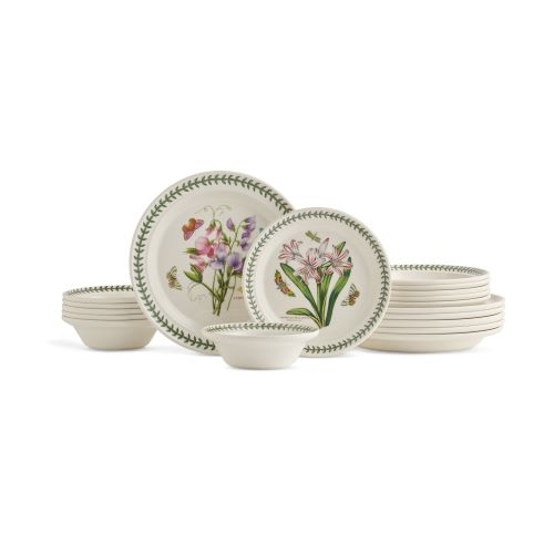Portmeirion Botanic Garden 18 Piece Set- Made In England image number 0