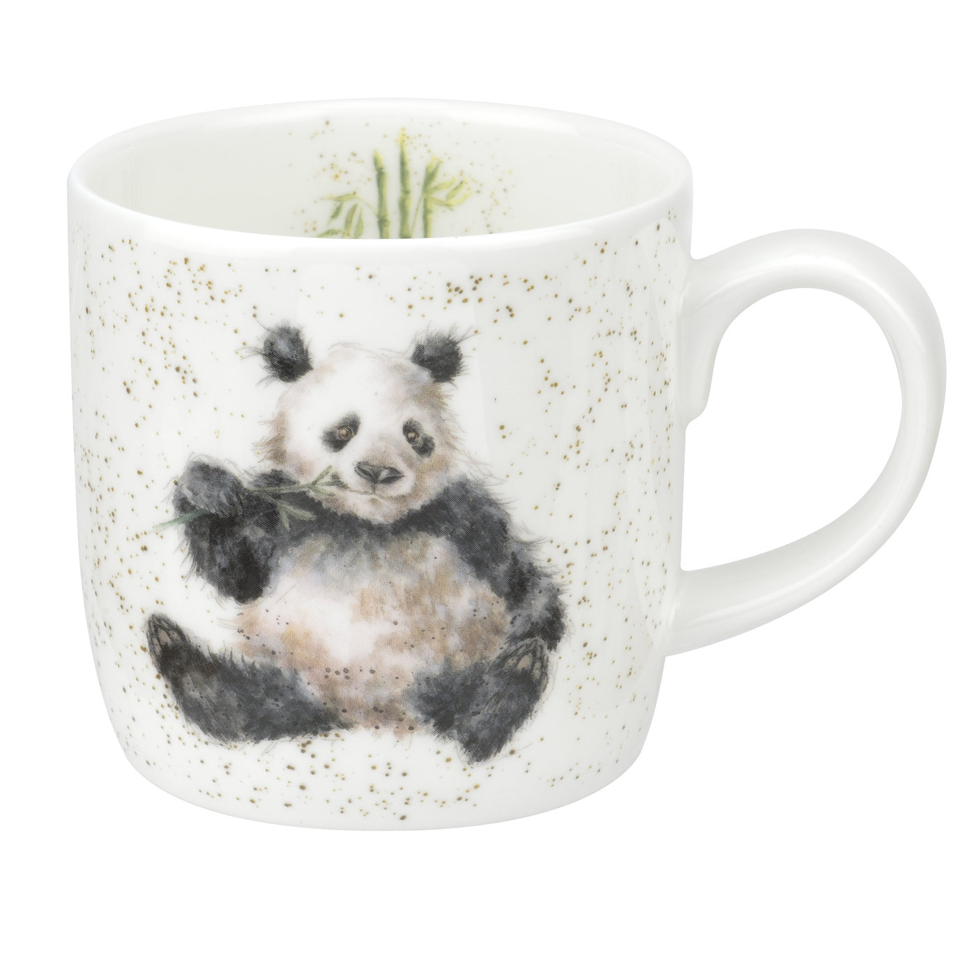 Royal Worcester Wrendale Designs MUG 14 OZ BAMBOOZLED (PANDA) image number 0