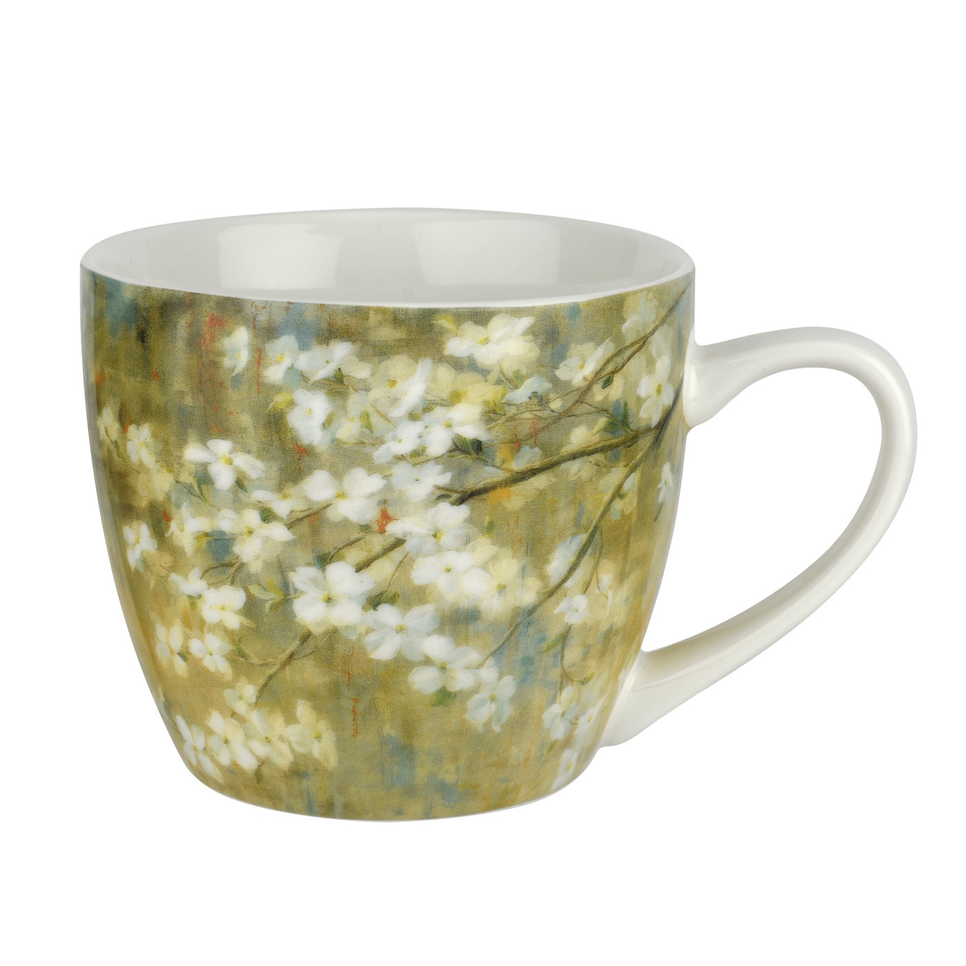 Pimpernel Dogwood in Spring 16 oz Mug image number 0