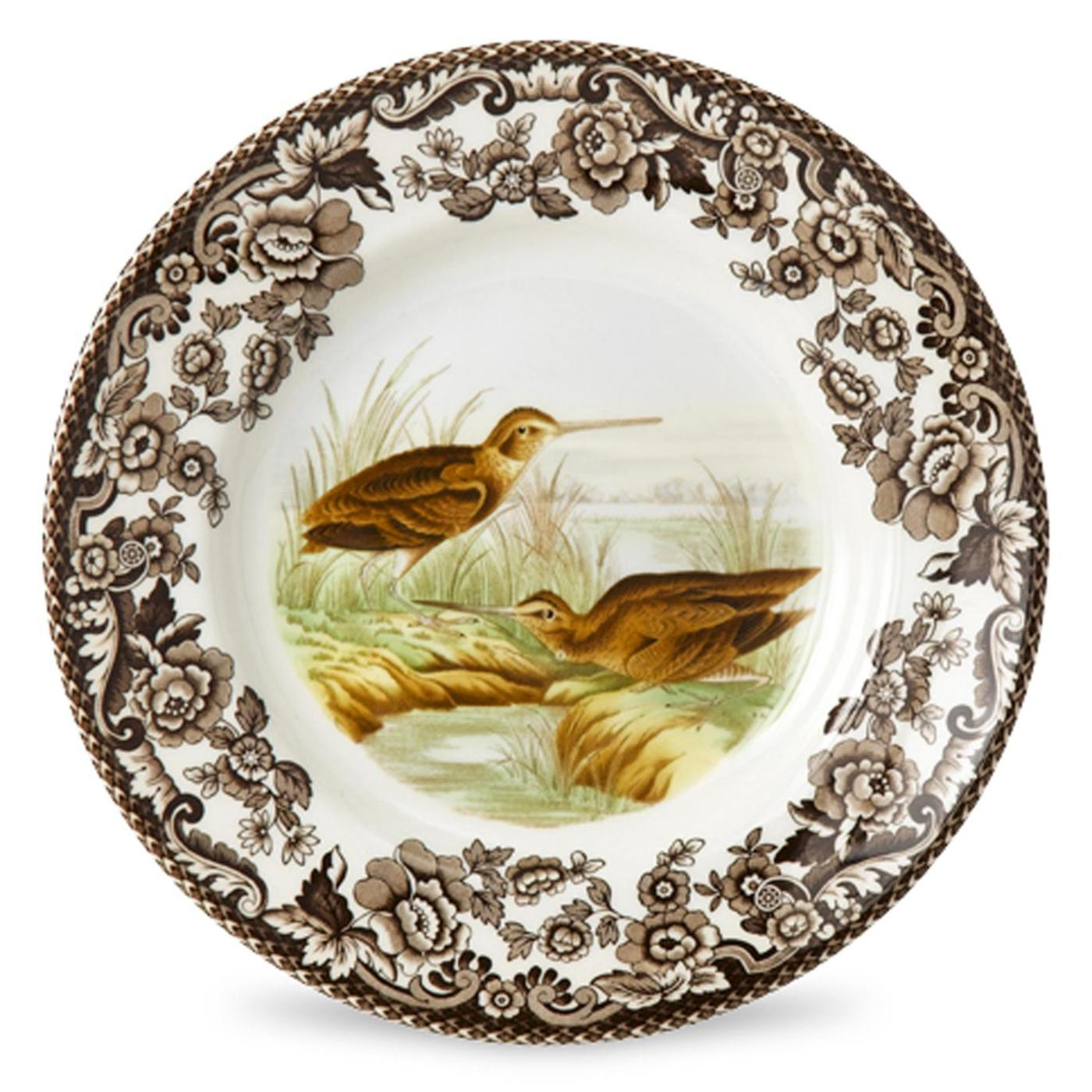 Spode Woodland Bread and Butter Plate 6 Inch (Snipe) image number 0