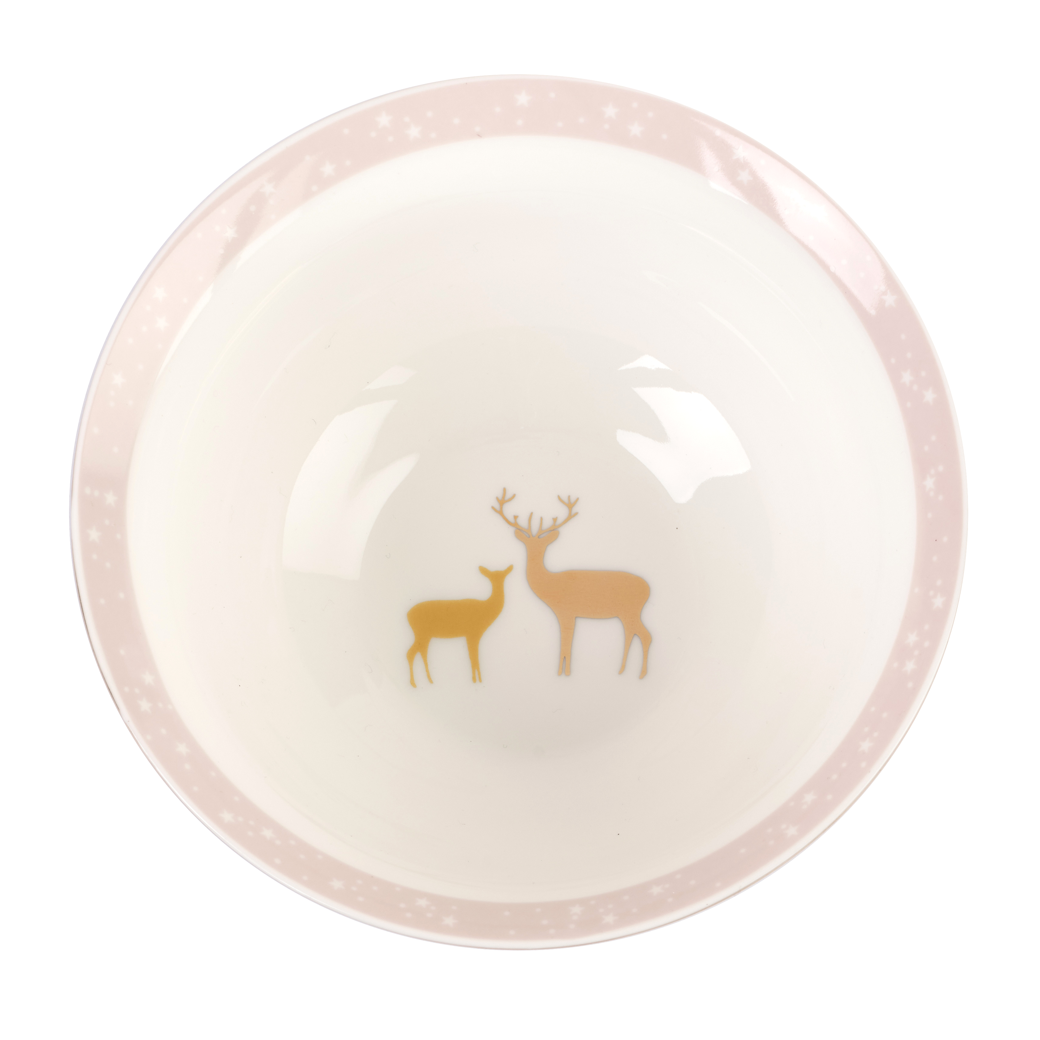 Sara Miller London for Portmeirion Frosted Pines 6 Inch Candy Bowl image number 2