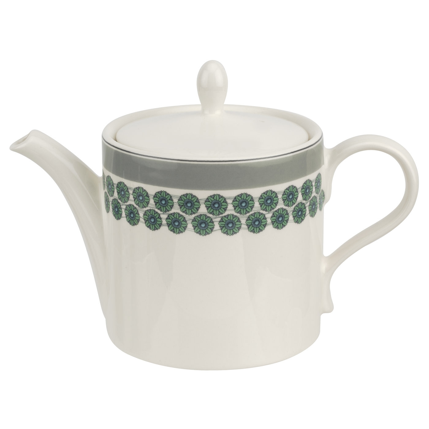 Portmeirion Westerly Grey 2 Pint Teapot image number 0